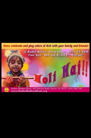 Holi - Festiival of Colors and Love