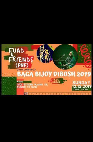 Fuad & Friends FnF Live at BAGA Bijoy Dibosh Celebration 2019