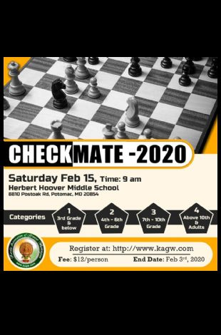 Chess Tournament - Checkmate 2020