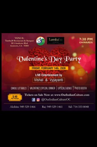 Valentine's Day Bollywood Party