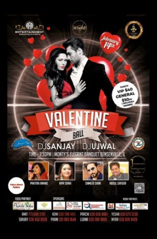 Valentine Ball - A Black Tie Event