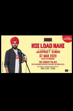 San Diego - Jaspreet Singh Stand-Up Comedy Live