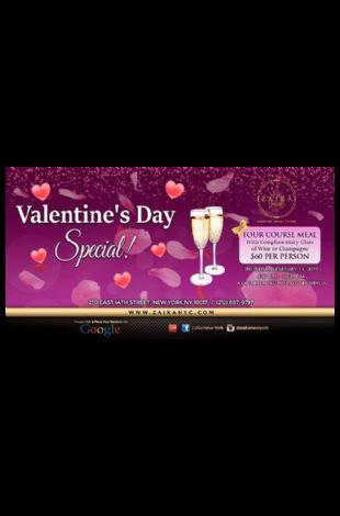 Zaika New York- Valentine's Day