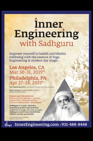 Yoga & Meditation with Sadhguru (Inner Engineering)