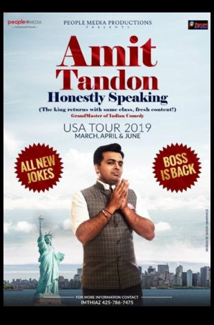 Honestly Speaking - Amit Tandon Stand-Up Comedy: Live in San Diego