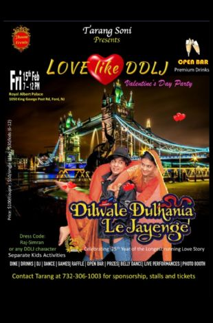 LOVE like DDLJ - Valentines Day Party