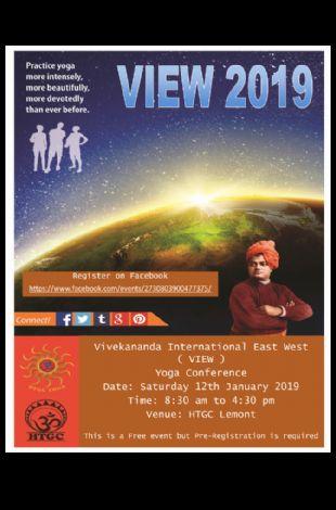 Vivekananda International East West (VIEW) Yoga Conference