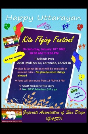 GASD - Uttarayan Kite Flying Festival 2020