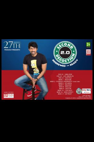 2.0 Second Decoction Karthik Kumar Live Stand up Comedy show