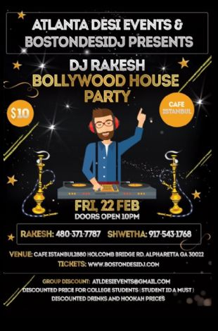 DJ Rakesh Bollywood House Party