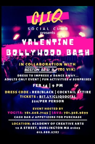 VALENTINE BOLLYWOOD BASH