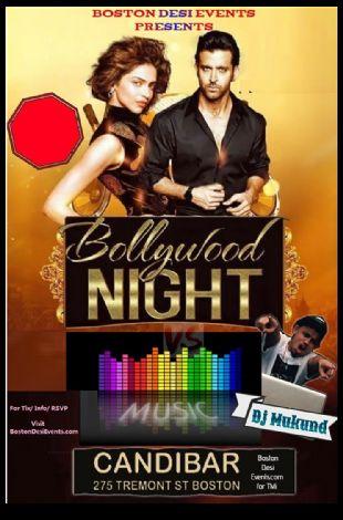 Bollywood Fridays Club Candibar w/Dj Mukund