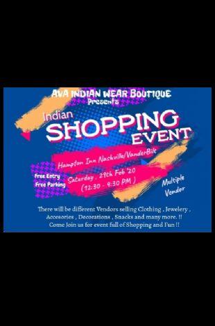 Indian shopping mela/event