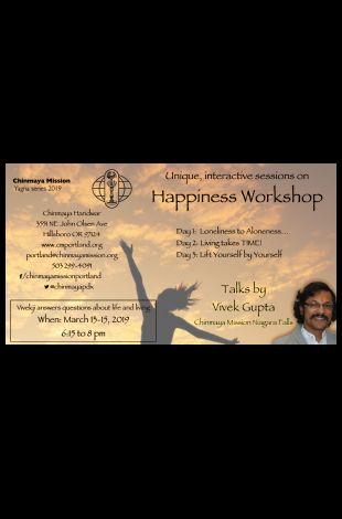 Happiness Workshop - by Vivek Gupta