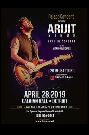 Arijit Singh Live Concert Detroit 2019