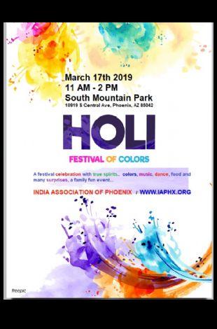 India Association Holi