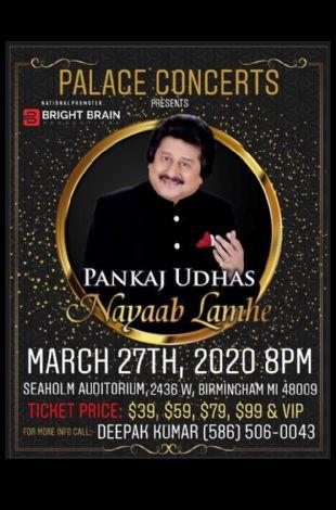 Padmashri Pankaj Udhas Live in Concert - Detroit