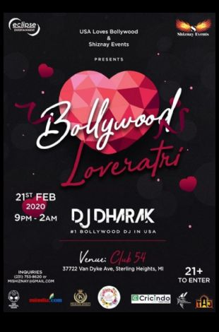 Bollywood Loveratri With DJ Dharak