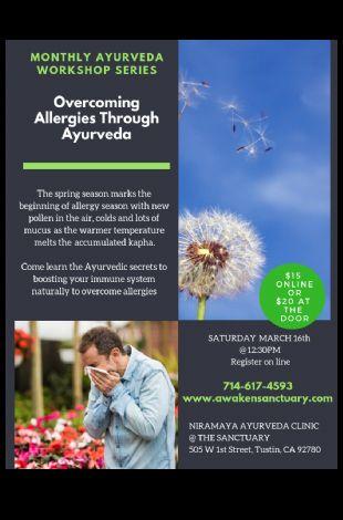 Overcoming Allergies Through Ayurveda