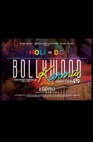 Bollywood Karma - Holi in DC