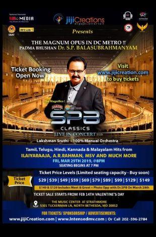 SP Balasubramaniam Live Concert 2019