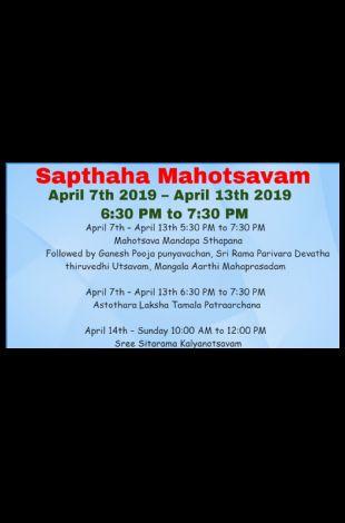 Sapthaha Mahotsavam