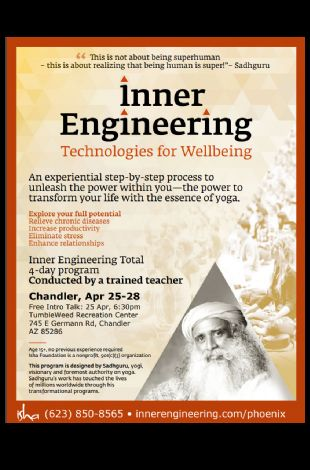 Inner Engineering by Isha