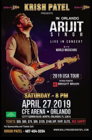 Arijit Singh Live In Concert - Orlando