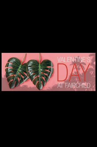 Valentine's Day Concert at Fairchild featuring Jarred Lawson