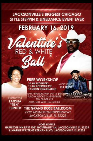Valentine's Red and White Ball