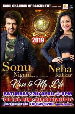 Sonu Nigam with Neha Kakkar Live in Concert