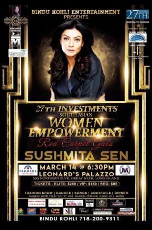 South Asian Woman empowerment With Sushmita Sen