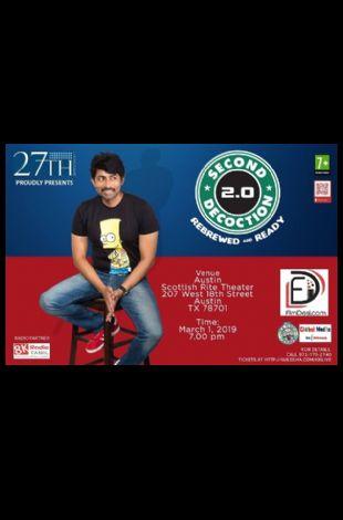 Karthik Kumar Live Stand up Comedy show Austin