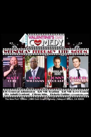 Valentine's Day Comedy at The Port