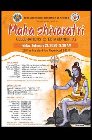 Maha Shivaratri Celebrations