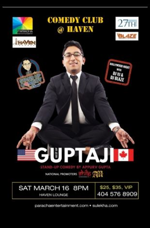 Appurv Gupta Stand Up Comedy Live in Atlanta