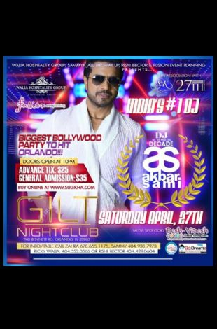 India's & Bombay's #1 DJ Akbar Sami - Orlando