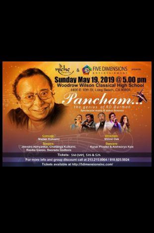 Pancham - The genius of R D Burman in Los Angeles
