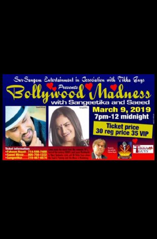 Bollywood Madness with Sangeetika & Saeed