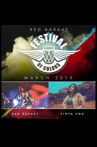 Red Baraat Festival of Colors in LA