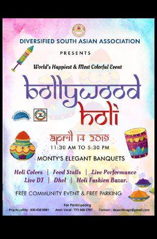 Bollywood Holi - Festival Of Colors