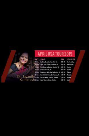 Veena Concert by Dr. Jayanthi Kumaresh