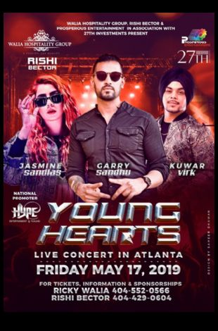 Young Hearts Live Concert in Atlanta