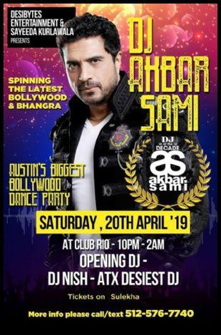 Roar - DJ AKBAR SAMI - Bollywood Nights