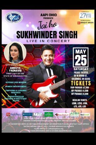 Jai ho!! Sukhwinder Singh Live