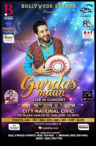 Gurdas Maan Live Concert 2019 in San Jose (Bay Area)