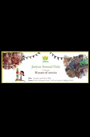 Janyaa's Annual Gala - Celebrating 10 years of Service