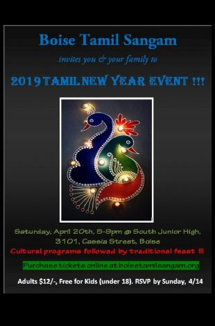 Boise Tamil New year celebrations