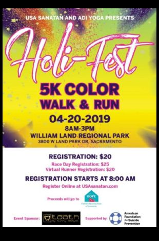 Holi Fest 5k Color Run & Walk