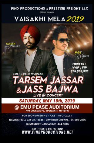 Tarsem Jassar & Kulbir Jhinjer Live In Detroit